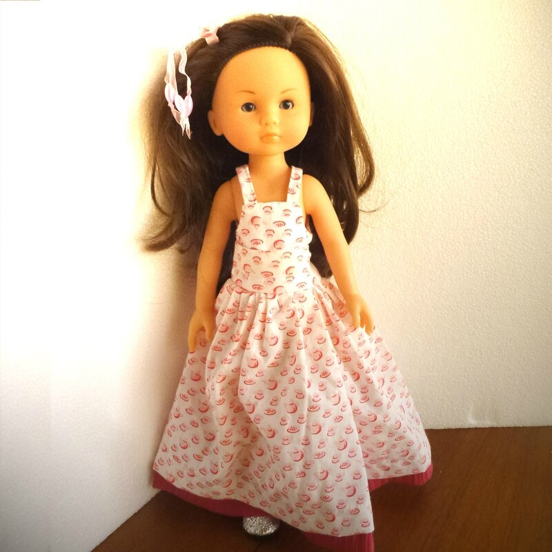 cherie robe rose 2