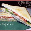 Sandwich au thon en rémoulade légère