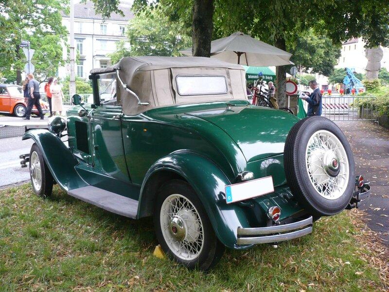 GRAHAM PAIGE Golfer's coupé 1929 Baden Baden (2)