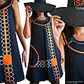 mod_379a_robe_trapeze_createur_noir_orange_graphique_couture