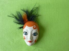 Masque Broche n° 1