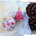 Noël pas à pas: astuces n°1 les boules de noël