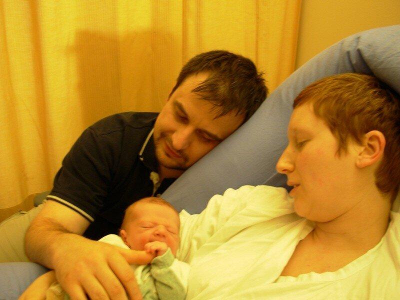 Naissance d'Arthur, le 14 mai 2006