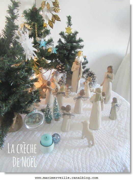 la crèche ce Noël Marimerveille