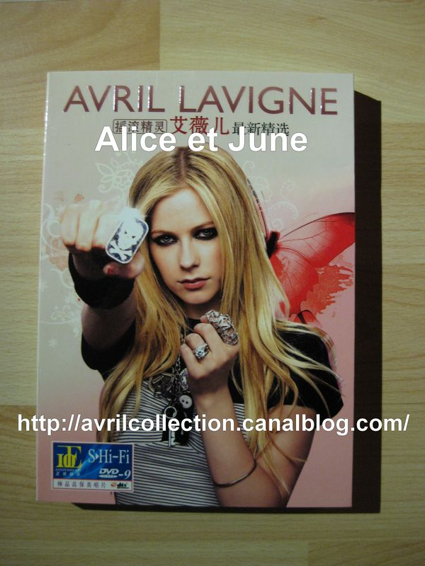 DVD Avril Lavigne Butterfly-Asie (2010)