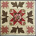 Antique wedding sampler bloc 4 et 5