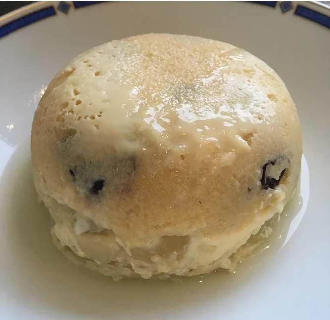 Bowlcake semoule poire/cranberries
