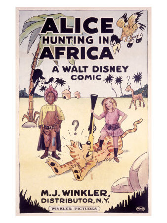 0000_5221_4_Alice_Hunting_in_Africa_a_Walt_Disney_Comic_Affiches