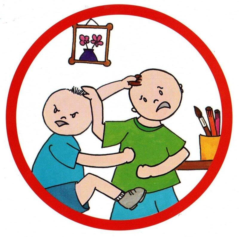 Ne pas se bagarrer - Photo de Images pour les règles de