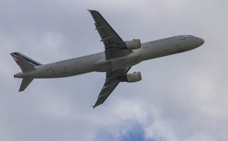 Airbus A321 d'Air France Lab'line for the future