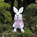 Test crochet - march hare...