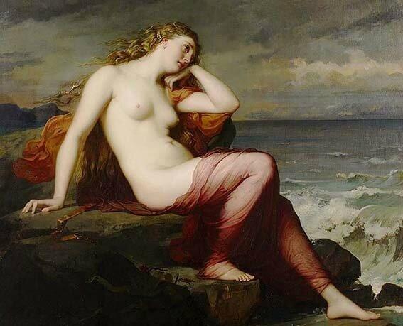 Calypso par Henri Lehmann - 1869