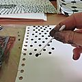Papiers à motifs pour collages / paper with patterns for collages (1)