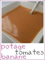 Potage tomates - banane - index