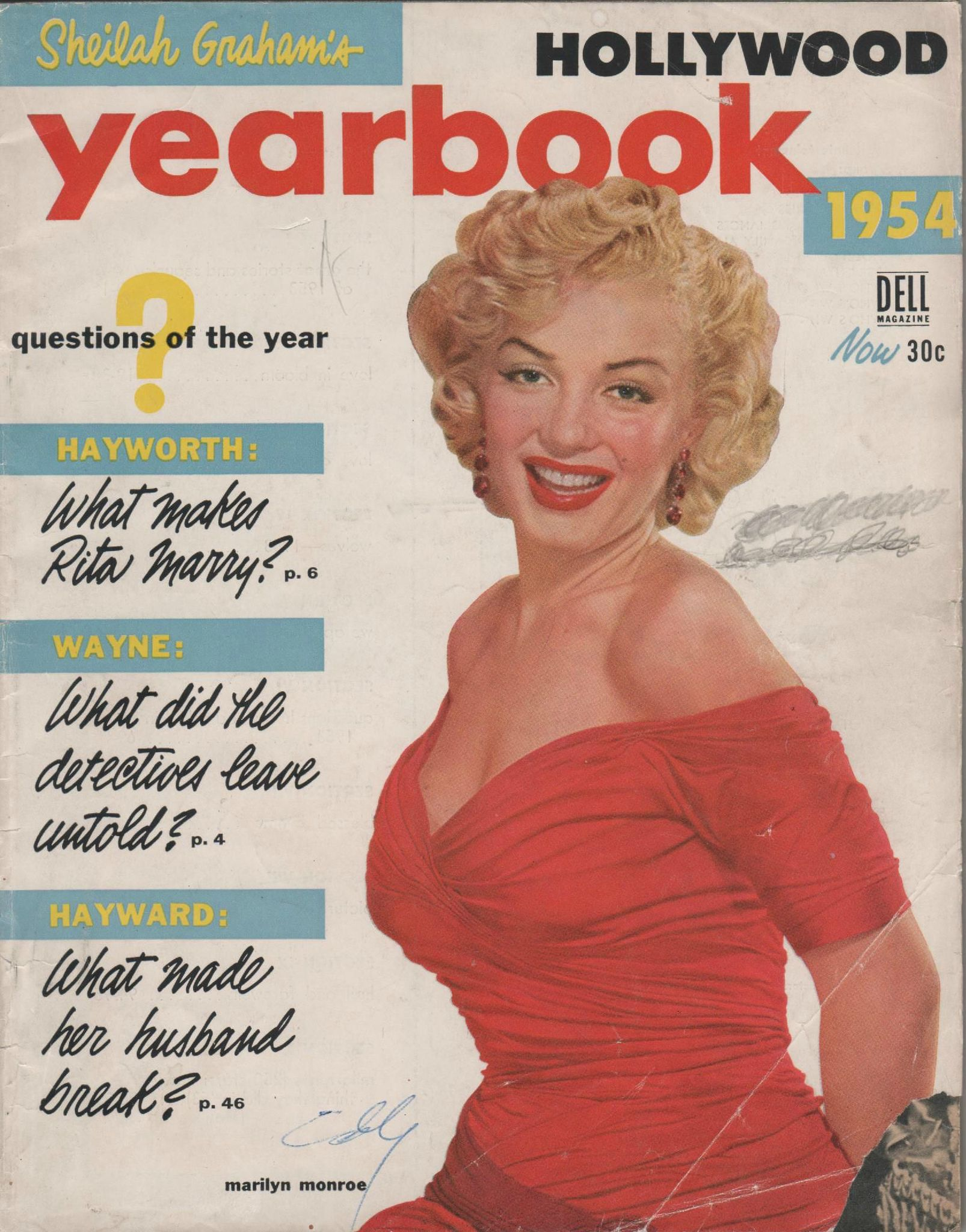 Hollywood yearbook (usa) 1954