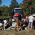Chalain d'uzore 42 23 09 2018 rencontres à la ferme des bornes