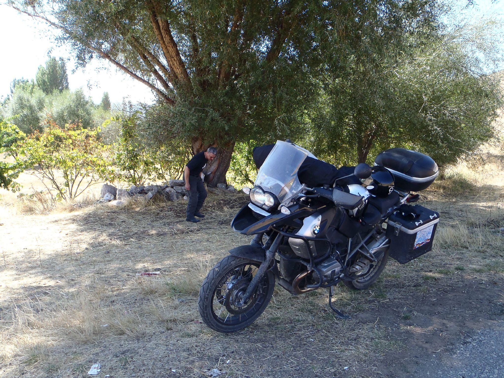 turquie : l'ombre salvatrice à la pause dejeuner