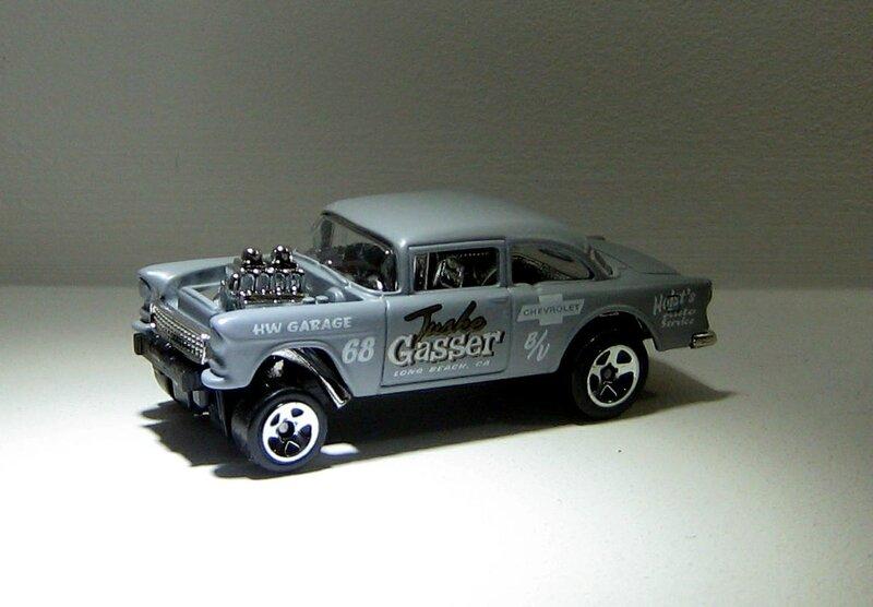 Chevrolet bel air gasser de 1955 (Hotwheels 2013) 01