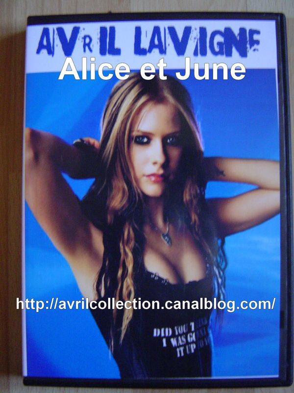 DVD non officiel Avril Lavigne n°1