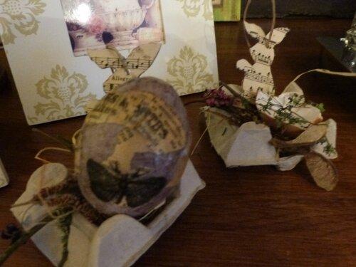 Oeufs de Pâques papier ancien (39)