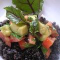 Salade de lentilles béluga