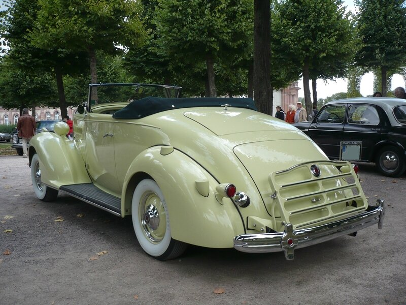 PACKARD Model 120 coupé cabriolet 1936 Schwetzingen (2)