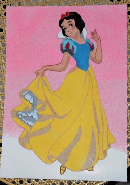 Blanche neige sable