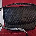 Sac sam en simili cuir, un sac à main avec un tuto gratuit !