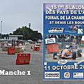 Slalom Pays de l'Ain 2015 - Manche 1