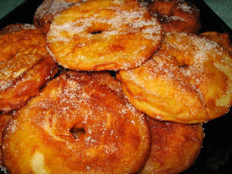 Beignets Aux Pommes Le Sachet D Epices