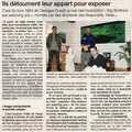Ouest France 29 Mars 2008 - Delphine Lenormand