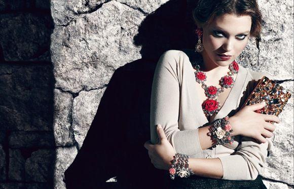 Prada-Flower-Jewelry-Show-Beautiful-Woman-Top