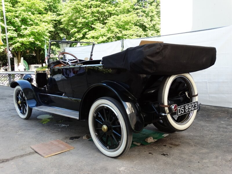 STANLEY Steamer Model 735-B 7 passenger touring car 1919 Baden Baden (2)
