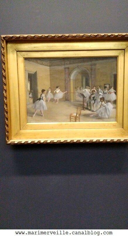 Le foyer de la danse Degas- Musée d'orsay - Marimerveille