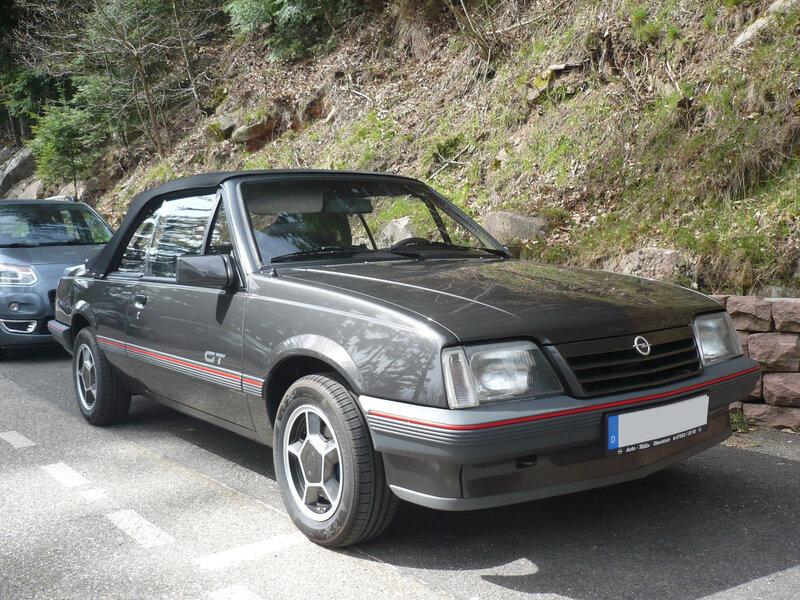 OPEL Ascona C GT cabriolet Orschwiller (1)