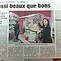 Sucr and chic dans le journal l'union
