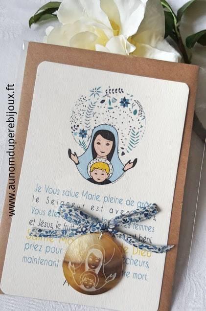 Catho Box Vierge à l'Enfant (bleu) - 23 €