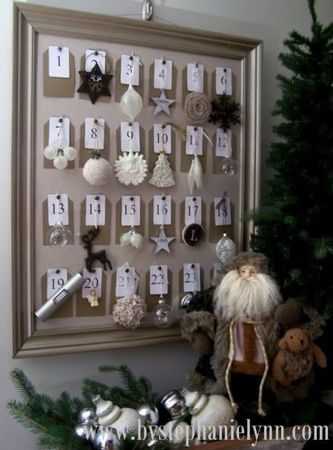diy-framed-christmas-ornament-advent-calendar