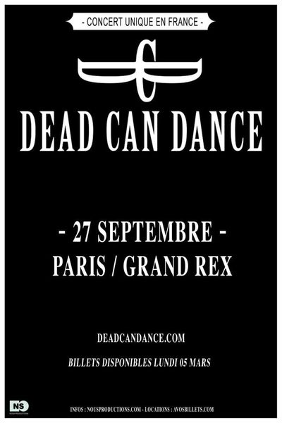 Dead Can Dance Paris 2012