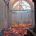 Patrimoine normand en peril/ 29: reconstruire l'église de romilly-la-puthenaye (eure) totalement ravagée par le feu!