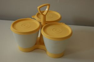 tupperware trio