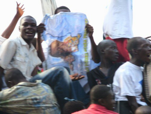 Bemba supporters (two)