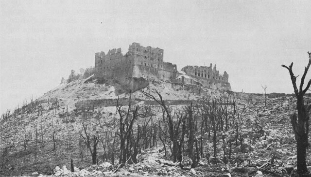 Monte-Cassino-détruit