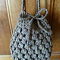 Sac en crochet Washi
