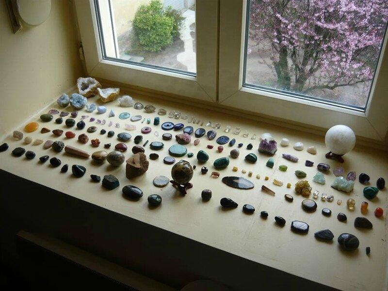 collection minéraux