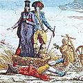 Le 24 octobre 1789 à bonnétable : refus de payer les droits d'aides.