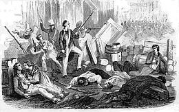 Insurrectionde Juin 1832 Paris