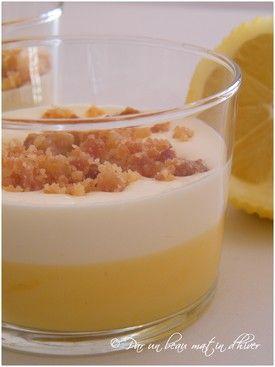 Crème citron/mascarpone
