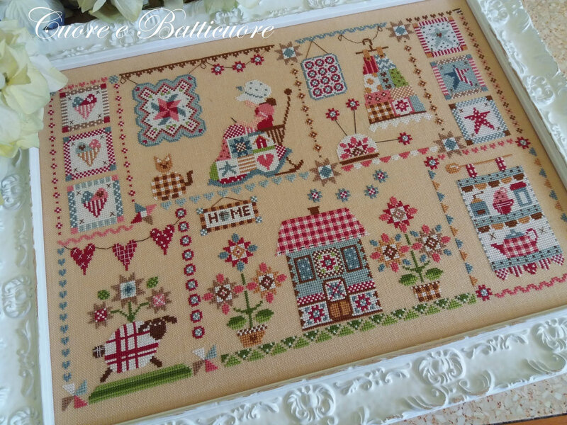 quilting in quilt 5