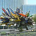 fontaine de bateaux à Las Vegas
